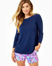 Load image into Gallery viewer, Ophelia Top True Navy