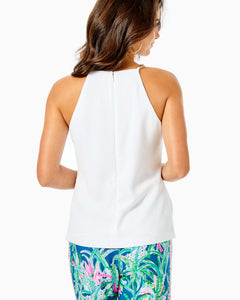 Adrienne Top Resort White