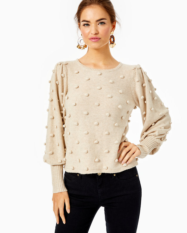 Kippa Sweater Heathered Latte