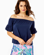 Load image into Gallery viewer, Samia Top True Navy