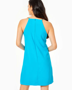 Adrienne Dress Formentera Turquoise