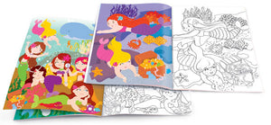 Dry Erase Coloring Book w/ Stickers