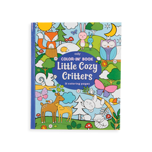 Load image into Gallery viewer, Little Cozy Critters Color-in Book