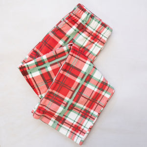 Youth Alpine Plaid Flannel Lounge Pants