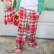 Load image into Gallery viewer, Youth Alpine Plaid Flannel Lounge Pants
