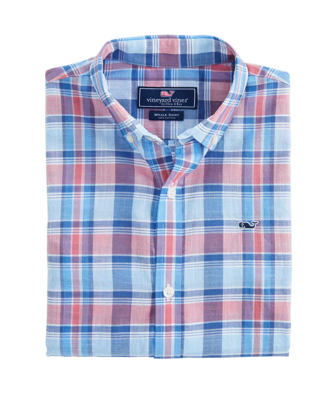 VV Boys' Plaid Button Down