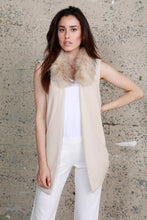 Load image into Gallery viewer, Women's Knit Vest w/ Fur