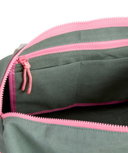 Load image into Gallery viewer, Vineyard Vines Pink & Green Duffel Bag