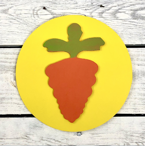 Carrot Medallion