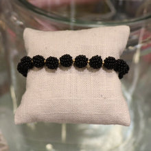 Load image into Gallery viewer, Black Beaded Bracelet