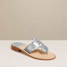 Load image into Gallery viewer, Silver Jack Rogers Flat Sandal