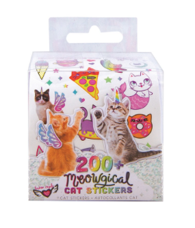 Meowgical Cat Stickers