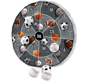 Sports Pillow Dart Board