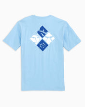 Load image into Gallery viewer, Men's Diamond Skipjack T-Shirt - Sky Blue