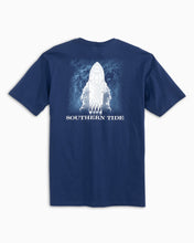 Load image into Gallery viewer, Men's Wave T-Shirt - Blue Night