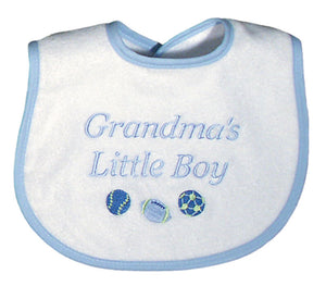 Grandmas Little Boy Bib