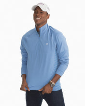 Load image into Gallery viewer, Men's Island Performance 1/4 Zip - Endless Blue