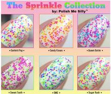 Load image into Gallery viewer, Neon Polka Dot Nail Polish