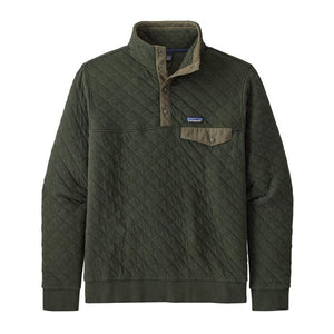 M Organic Cotton Quilt Snap Pullover