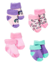 Load image into Gallery viewer, Baby Sock Set of 4