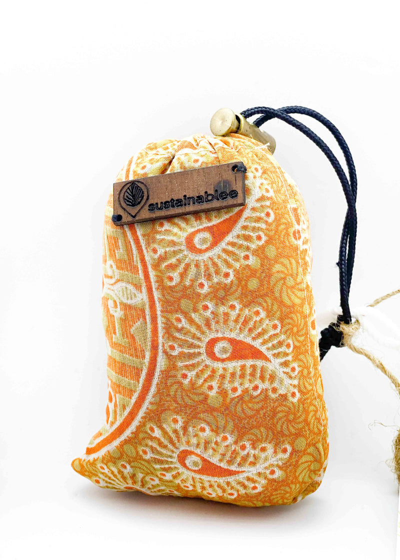 Re-useable Saree Bag | Short Handle