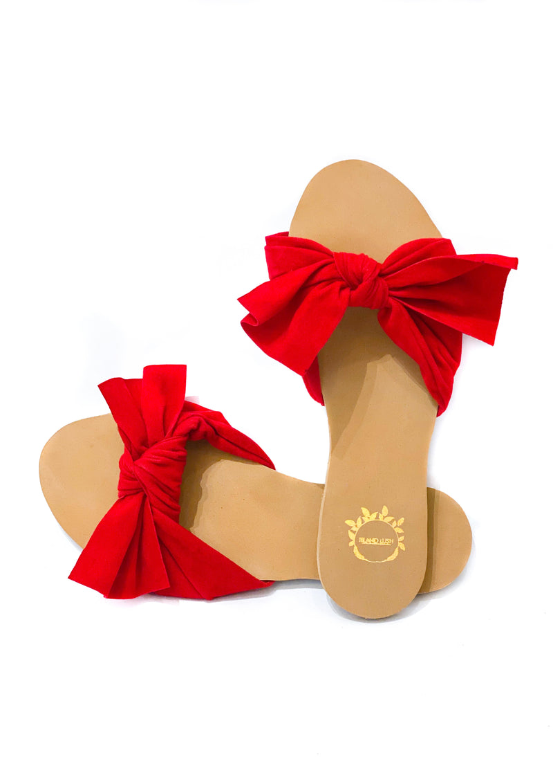 Bow Knot Slider | Red