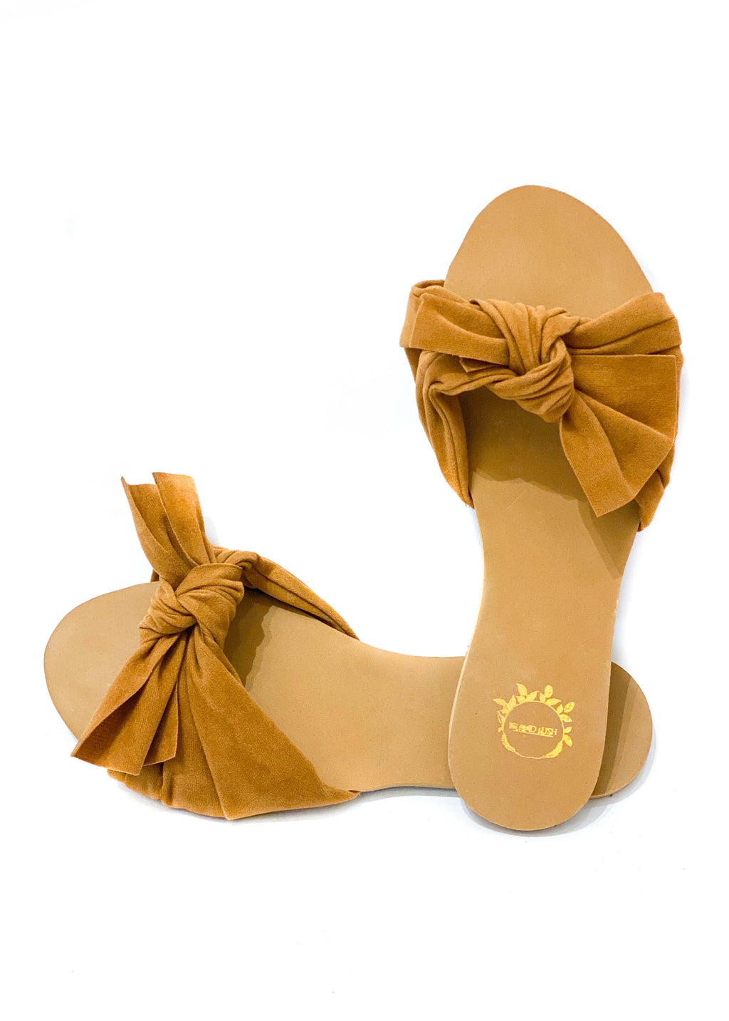 Bow Knot Slider | Tan