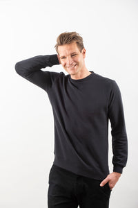 TENCEL™ SWEATSHIRT DARK NAVY