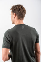 Load image into Gallery viewer, TENCEL T- SHIRT DARK OLIVE