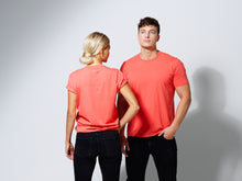 Load image into Gallery viewer, T- SHIRT CORAL ORANGE-T-shirt-Blankdays