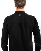 Load image into Gallery viewer, TENCEL SHIRT BLACK-shirts-Blankdays