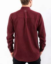 Load image into Gallery viewer, TENCEL SHIRT DEEP BURGUNDY-shirts-Blankdays