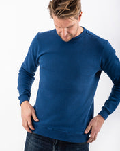 Load image into Gallery viewer, SWEATSHIRT BLUE MELANGE-Sweatshirt-Blankdays