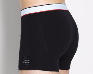 the boxer short black- 2 pack