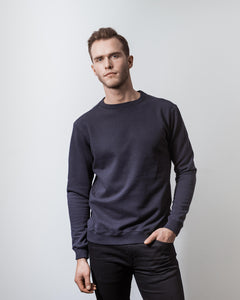 SWEATSHIRT NAVY (1594182795322)