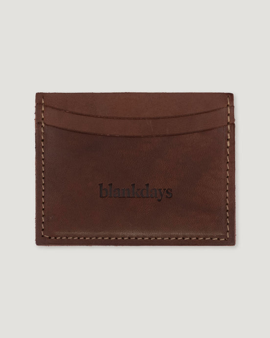 CARDHOLDER BROWN-accessories-Blankdays