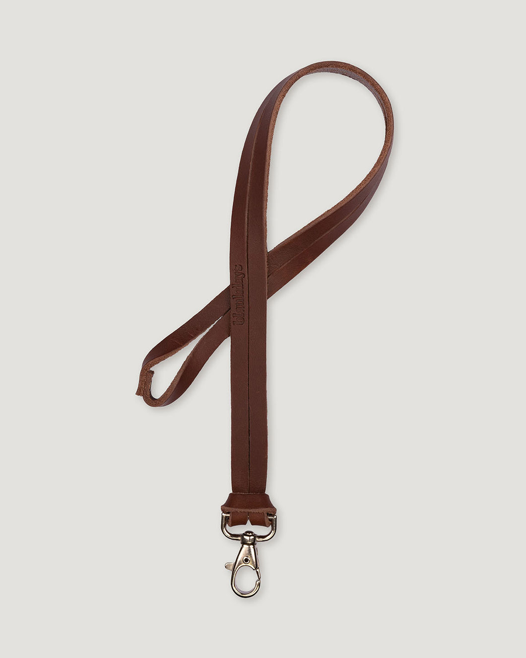 KEYCHAIN LONG BROWN-accessories-Blankdays