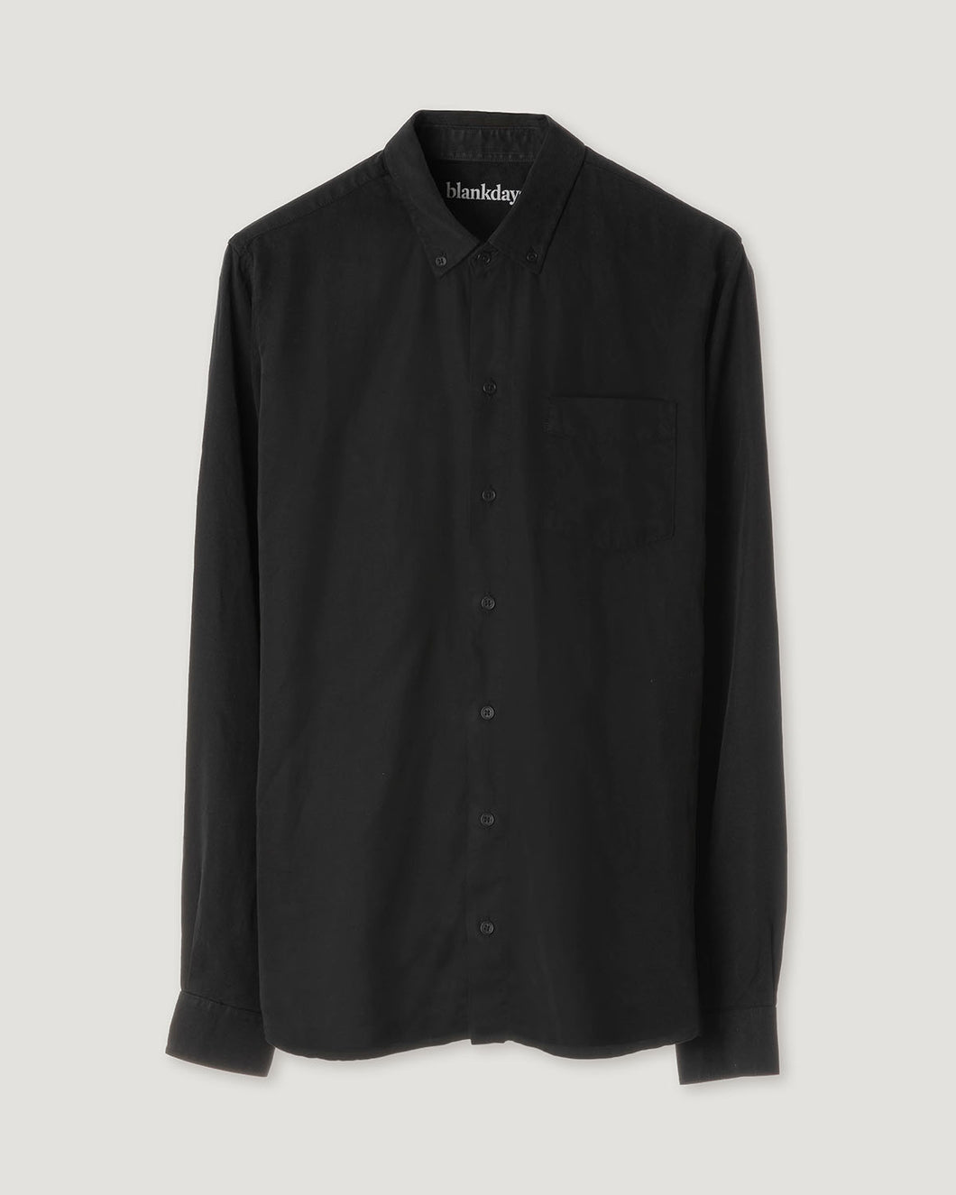 TENCEL SHIRT BLACK-shirts-Blankdays