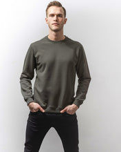 Load image into Gallery viewer, SWEATSHIRT ARMY OLIVE-Sweatshirt-Blankdays