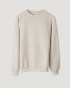 SWEATSHIRT CLEAN BEIGE