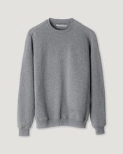 Load image into Gallery viewer, SWEATSHIRT GREY MELANGE-Sweatshirt-Blankdays