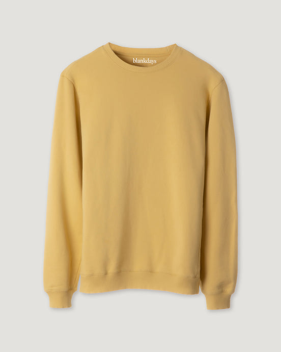 SWEATSHIRT SURF YELLOW-Sweatshirt-Blankdays