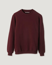 Load image into Gallery viewer, SWEATSHIRT DEEP BURGUNDY-Sweatshirt-Blankdays