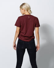Load image into Gallery viewer, T- SHIRT DEEP BURGUNDY-T-shirt-Blankdays