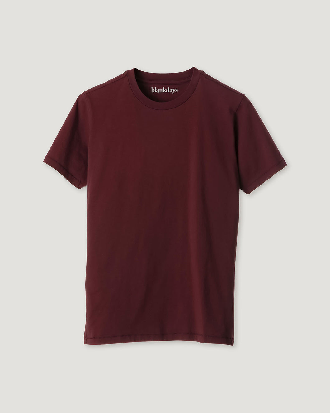 T- SHIRT DEEP BURGUNDY-T-shirt-Blankdays