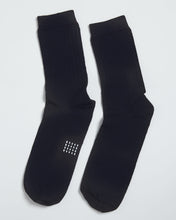 Load image into Gallery viewer, MERINO SOCK SOLID NAVY- 2 PACK