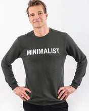Load image into Gallery viewer, MINIMALIST TENCEL™ SWEATSHIRT DARK OLIVE LIMITED EDITION
