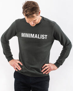 MINIMALIST TENCEL™ SWEATSHIRT DARK OLIVE LIMITED EDITION