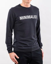 Load image into Gallery viewer, MINIMALIST TENCEL™ SWEATSHIRT DARK NAVY LIMITED EDITION