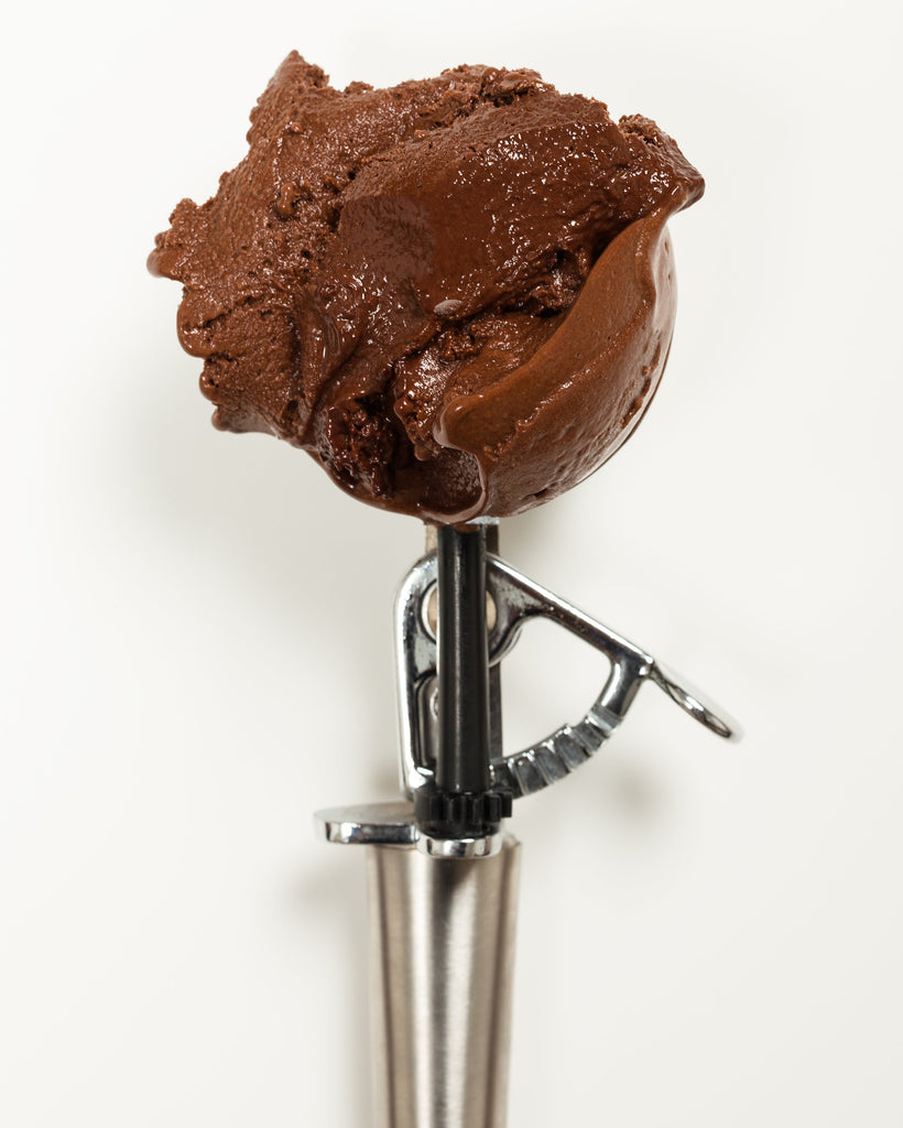 Dark Chocolate Sorbet (Vegan, Veg)